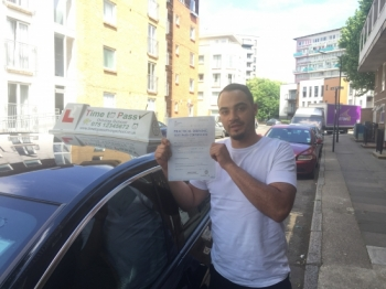 I passed my test first time with 3 minor faults <br />