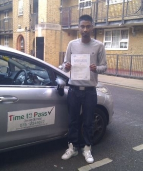 04 Wahoo!!!! I've passed my driving test,I couldn't have done it without Nurul, He helped me keep calm and made every lesson enjoyable and a great laugh. So I would recommend him & Time to Pass Driving School to everyone. Thank you Nurul, You are amazing...